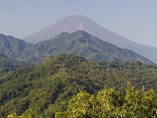 2013年9月19日の富士山写真