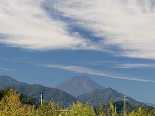 2013年9月28日の富士山写真