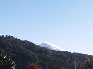 2013年10月11日の富士山写真