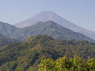 2013年10月12日の富士山写真
