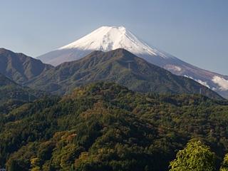 2013年10月30日の富士山写真