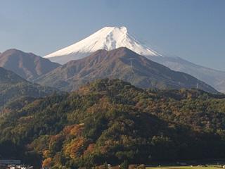 2013年11月8日の富士山写真