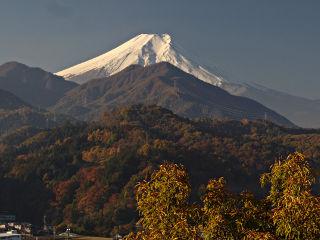 2013年11月17日の富士山写真