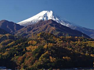 2013年11月21日の富士山写真