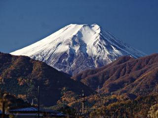 2013年11月22日の富士山写真