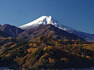 2013年11月23日の富士山写真