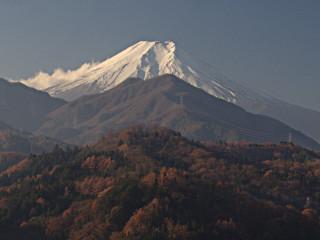 2013年12月7日の富士山写真
