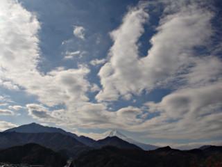 2013年12月8日の富士山写真