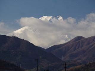 2013年12月11日の富士山写真