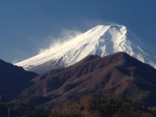 2013年12月12日の富士山写真