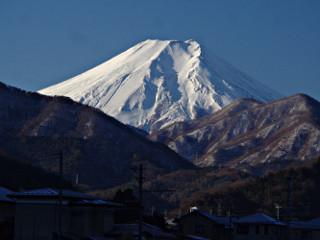 2013年12月21日の富士山写真