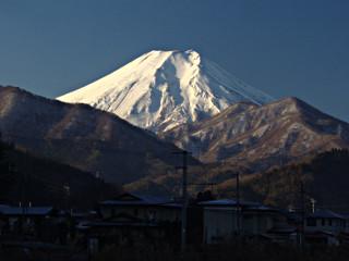 2013年12月25日の富士山写真