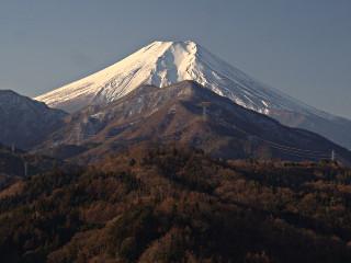 2014年1月7日の富士山写真