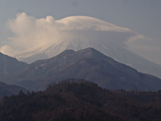 2014年1月8日の富士山写真