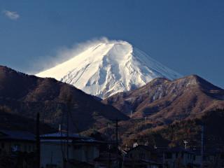 2014年1月10日の富士山写真