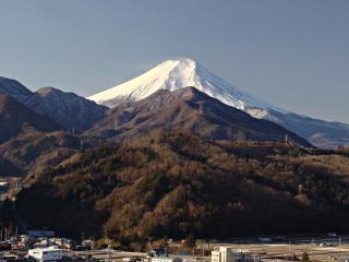 2014年1月11日の富士山写真