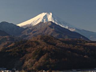 2014年1月12日の富士山写真