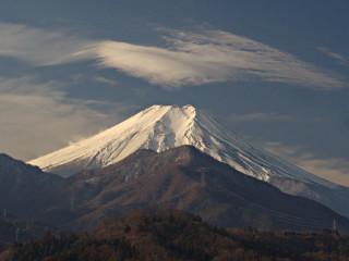2014年1月17日の富士山写真