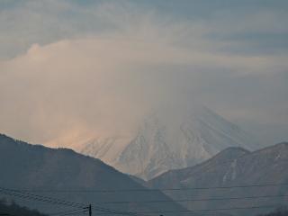 2014年1月18日の富士山写真