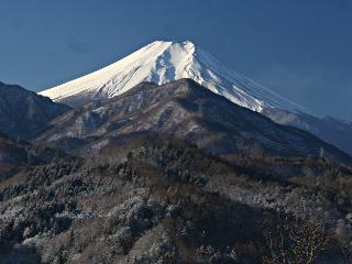2014年1月19日の富士山写真
