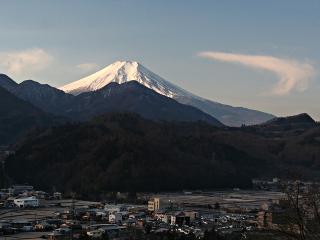 2014年1月30日の富士山写真