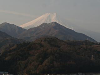 2014年2月1日の富士山写真
