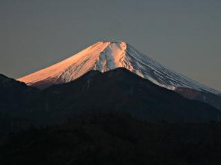 2014年2月3日の富士山写真