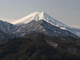 2014年2月7日の富士山写真