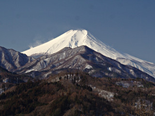 2014年3月6日の富士山写真