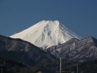 2014年3月7日の富士山写真