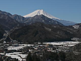 2014年3月11日の富士山写真
