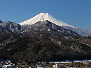 2014年3月15日の富士山写真