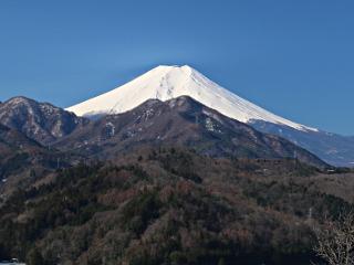 2014年3月23日の富士山写真