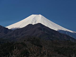 2014年3月31日の富士山写真