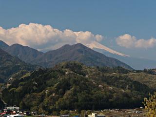 2014年4月24日の富士山写真