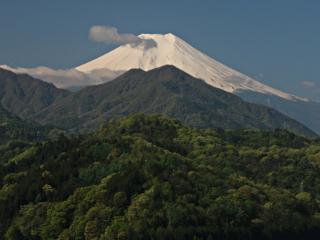 2014年5月2日の富士山写真