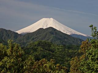 2014年5月4日の富士山写真