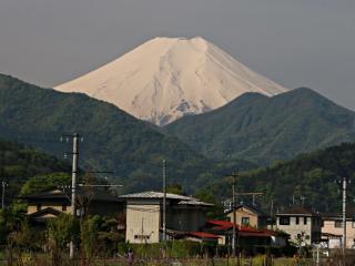 2014年5月8日の富士山写真