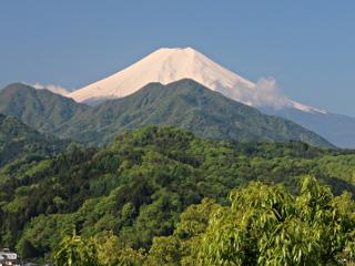 2014年5月9日の富士山写真