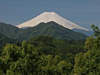 2014年5月11日の富士山写真