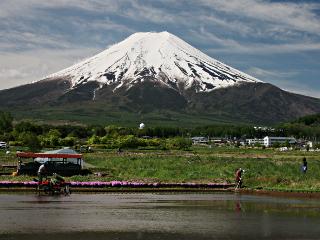 2014年5月17日の富士山写真