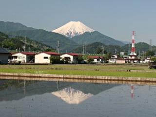 2014年5月24日の富士山写真