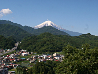 2014年6月13日の富士山写真