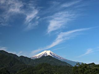 2014年6月14日の富士山写真