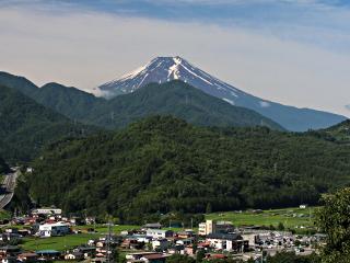 2014年7月8日の富士山写真