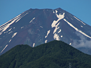 2014年7月11日の富士山写真