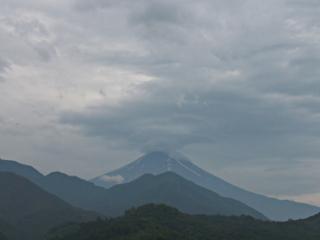2014年7月14日の富士山写真