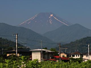 2014年7月16日の富士山写真