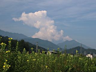 2014年8月1日の富士山写真