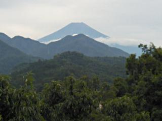 2014年9月8日の富士山写真